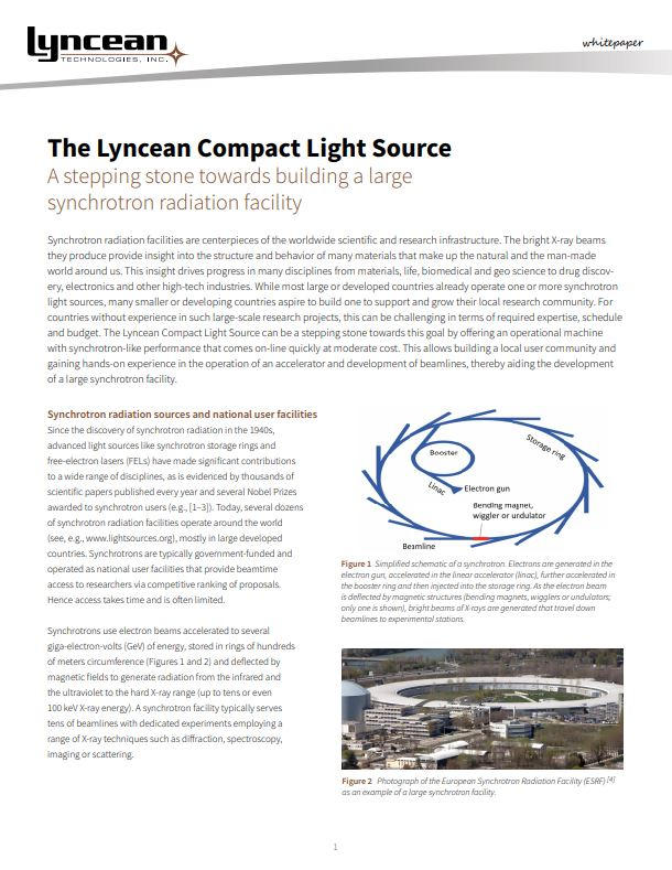 Lyncean Technologies Brochure